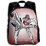 Mochilas para El Tiempo Libre,Bolsa para La Escuela,Jardín De Infantes,Taekwondo Kids...