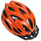 Zacro Adult Bike Helmet - CPSC Certified Cycle Helmet, Specialized for Women Safety Protection, Collocated with a Headband, Orange Helmet