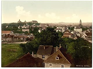 HistoricalFindings Photo: Gotha,with Inselberg,Thuringia,Germany