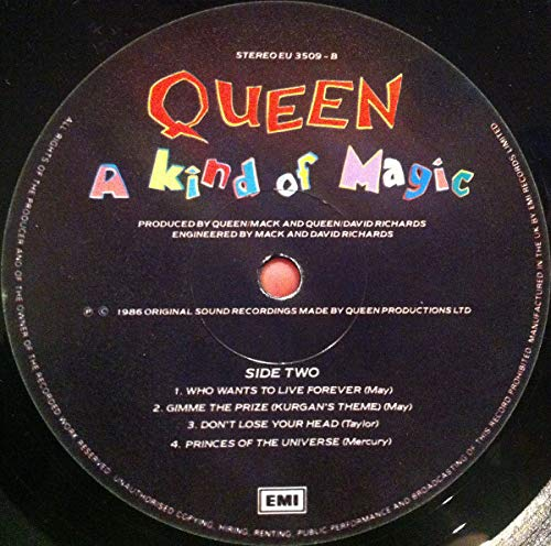 A kind of magic (1985/86) [Vinyl LP] - 5