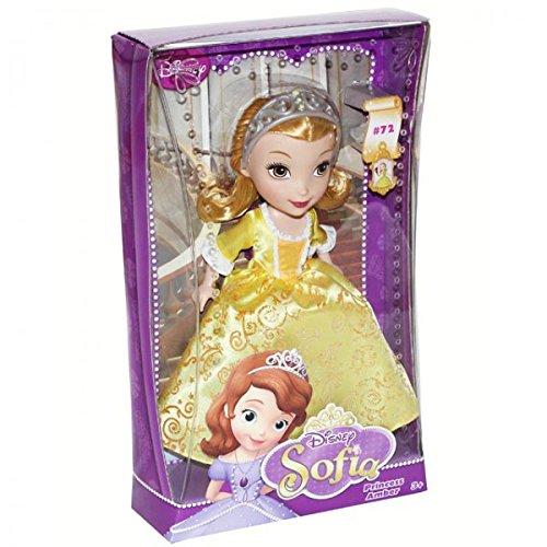 Mattel BLX29 BDH66 Disney Sofia Puppe Prinzessin Amber Kleid Ankleidepuppe Modepuppe, Modell / Charakter:Princess Amber