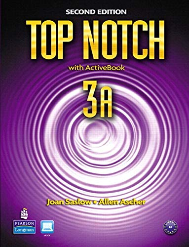 Top Notch 3A Split: Student Book with ActiveBook and Workbook and MyLab English (2nd Edition)