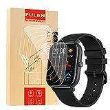 PULEN [Confezione da 6] Compatibile con Amazfit GTS Pellicola Protettiva Flessibile TPU HD...