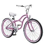 BIKESTAR Bicicleta Infantil para niños y niñas a Partir de 10 años | Bici 24 Pulgadas con Frenos...