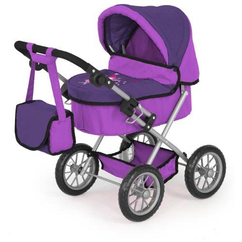 Bayer Puppenwagen Trendy, Pflaume und lila