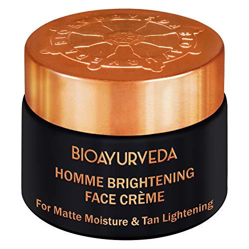 BIOAYURVEDA Homme Brightening Cream for Men, Reduces Dark Spots, Helps in Enhancing Natural Glow 40gm