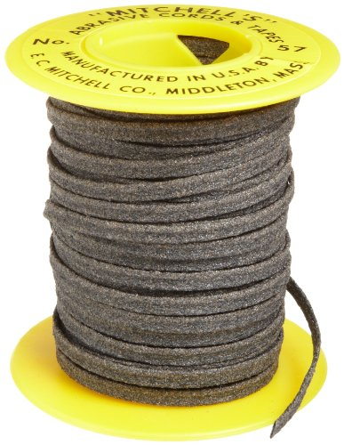 Mitchell Abrasives 57 Flat Abrasive Tape, Aluminum Oxide 150 Grit 1/8' Wide x 25 Feet
