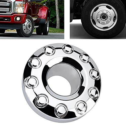 5C3Z1130NA Front 10 Lug Chrome Wheel Center Hub Cap Compatible with Ford F450...