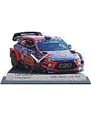Sebastien Loeb, Hyundai I20, Rallye Monte Carlo 2019, en reloj con base Miniature 01