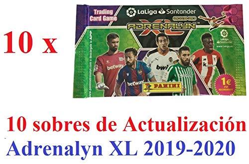 'N/A' ACTUALIZACION 10 Sobres (60 cromos) Adrenalyn XL LA Liga 2019 2020
