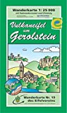 Wanderkarte Nr. 19 des Eifelvereins: Vulkaneifel um Gerolstein 1:25.000