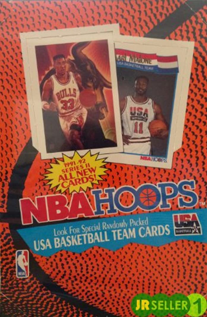 1991 92 Hoops Series 2 Basketball Cards Unopened Wax Box s934408303
