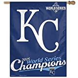 Wincraft Kansas City Royals 2015 World Series Champions MLB Fahne 90 x 70 cm -