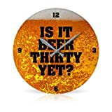 Beer Thirty 10.75' Round Acrylic Wall Clock