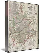 Best vintage indianapolis map Reviews