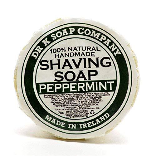 Dr K Soap Company Jabón de afeitado, lima, 70g