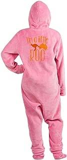 CafePress I'm A Little Roo Kangaroo Joey Cute Footed PJs