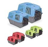 Trasportino Romeo 1 cuccia gabbietta gabbia per cane gatto coniglio per viaggi