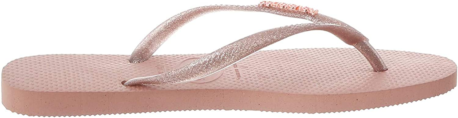 55% OFF Havaianas Womens Slim Logo Metallic Rubber Lightweight Holiday Factory outlet F