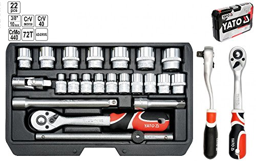SOCKET SET 38 22PCS