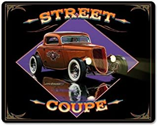 Old Time Signs Street Coupe Vintage Metal Sign Wall Decor 15 x 12