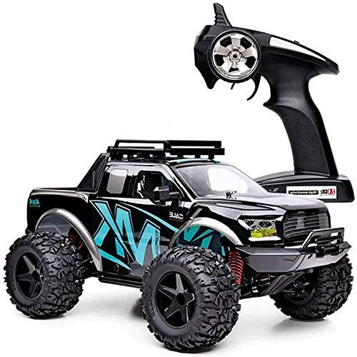 WANGCH 2.4G Wireless RC 4WD Buggy es 40 km/h Control Remoto Vehículo Todoterreno a Prueba de Golpes y a Prueba de choques Juguete de Carreras 1/10 Coche de Juguete eléctrico Regalos de cumpleaños y