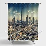 Aliyz Dubai Skyline schöner Stadt der Nähe der