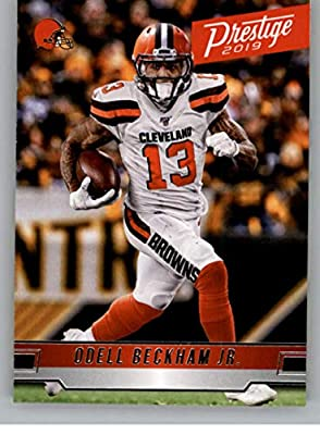 2019 Panini Prestige #110 Odell Beckham Jr. Cleveland Browns Football Card