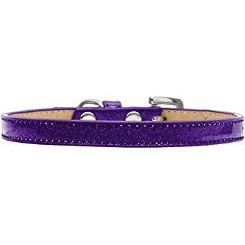 Size 16 White Mirage Pet Products Cherries Nylon Dog Collar with Classic Buckle
