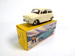 FIAT 600 White from Agostini Dinky Toys