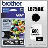BRTLC75BK - Brother LC75BK Ink Cartridge
