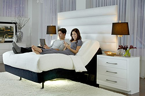 Prodigy 2.0 Adjustable Bed Base Frame with 14' Cool Gel Memory Foam Mattress by Sven & Son