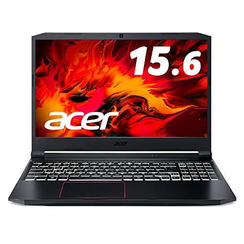 Acerゲーミングノートパソコン Nitro5 AN515-55-A58U5A Corei5-10300H 8GB SSD256GB GeForceGTX1650 15.6型...
