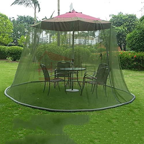 SMSJ-YJ Accesorios Pantalla Resistente al Agua Ronda Universal Sombrilla for el Patio del pabellón de Insectos Mosquitero for Gazebo de Malla de Repuesto Red Neto del Mosquito del Insecto