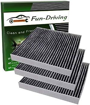 3-Pack Fun Driving FD285 Cabin Air Filter