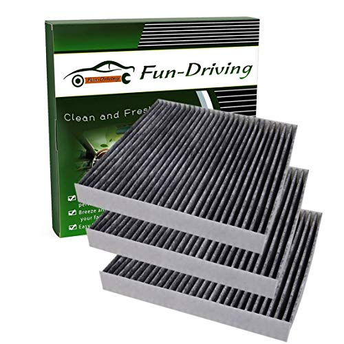 3 Pack FD285 Cabin Air Filter Replacement for CF10285,CP285,Not Fit 2016 Prius