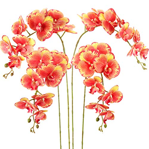 Flores Artificiales Decoracion Jarrones Naranjas flores artificiales decoracion jarrones  Marca RERXN