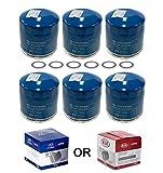 Genuine OEM Hyundai & Kia Oil Filter 26300-35505 (New Version of 35504) (6 pack)