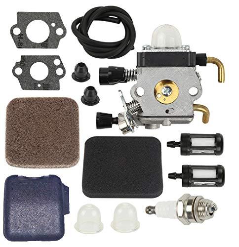 MDAIRC Carburetor for Stihl FS80R FS85R KM85 HS75 FS74 FS76 HT75 C1Q-S157 (Fit FS80R)