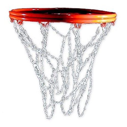 Cannon Sports Standard Chain Basketball Net with S-Hooks