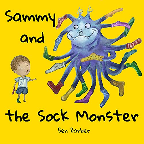 Sammy and the sock Monster (English Edition)