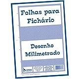 Oferta Bloco Para Fichário Universitário, Tamoio, Milimetrado, A4, 21x29,7 cm, 50 Folhas por R$ 9.22