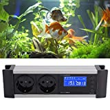 HEEPDD Controlador de Temperatura, termostato Digital Controlador de Humedad con zócalo para incubadora de acuarios con Caja de reproducción de Reptiles(220V 10A)