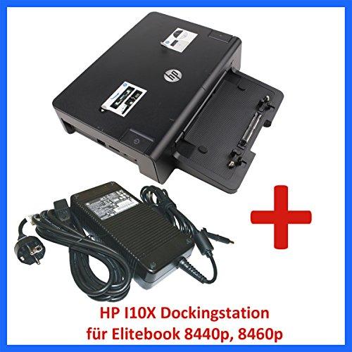 HP Dockingstation HSTNN-I10X + HP Netzteil 230W für Elitebook 8440p 8460p