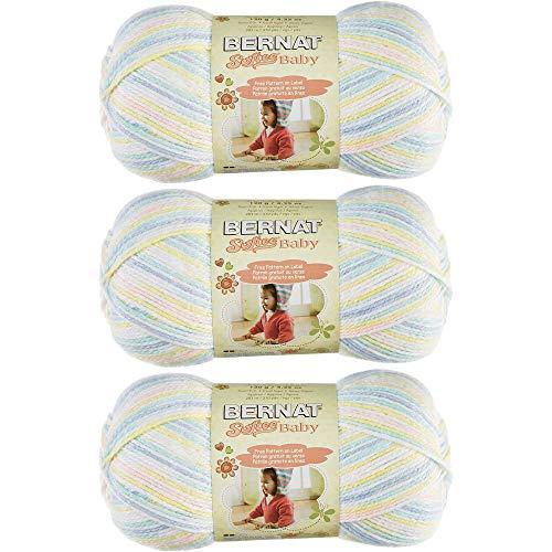 Bulk Buy Bernat Softee Baby Yarn Ombres, 166031-31306-baby-baby, 3-Pack