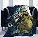 EgVgxir Oogie Boogie Blanket Super Soft Flannel Throw Blanket Funny Anime Blankets for Couch Bed Sofa 60'X50'