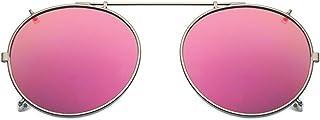 clip on gafas de sol gafas de sol polarizadas uv400 – ajuste cómodo y seguro sobre gafas de sol con prescripción, ideal pa...