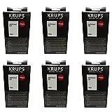 Krups F054 - Polvo descalcificador (6 unidades, 2 bolsas de 40 g)