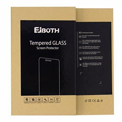 EJBOTH 2X Huawei Y7 2017 Panzerglas, Premium Schutzfolie Glas Handy Displayschutz Schutz Panzerfolie Transparent Kristall- High Definition Ultra-beständig 9H - 6