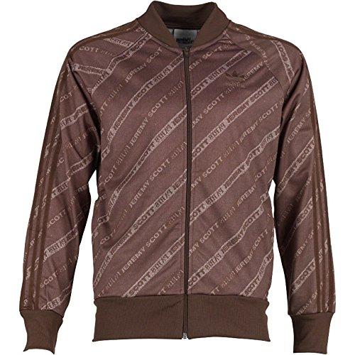 Adidas Men's Jeremy Scott Stripe Logo Track Jacket S07145,Medium